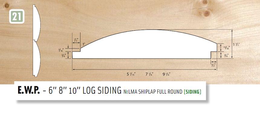 Log Siding Shiplap