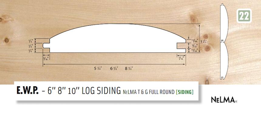 Log Siding T&G
